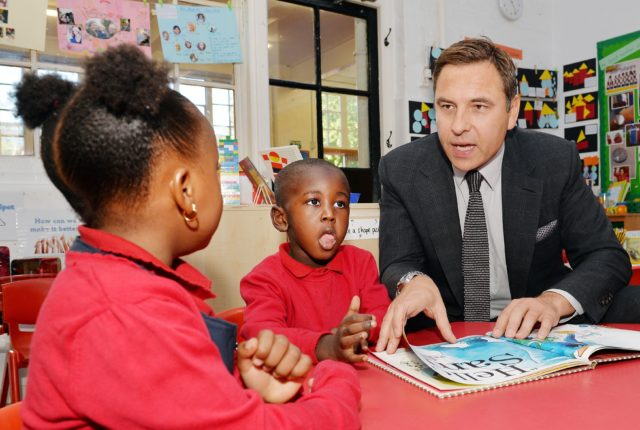 David Walliams' books are among the most popular for primary and secondary school pupils (John Stillwell/PA)