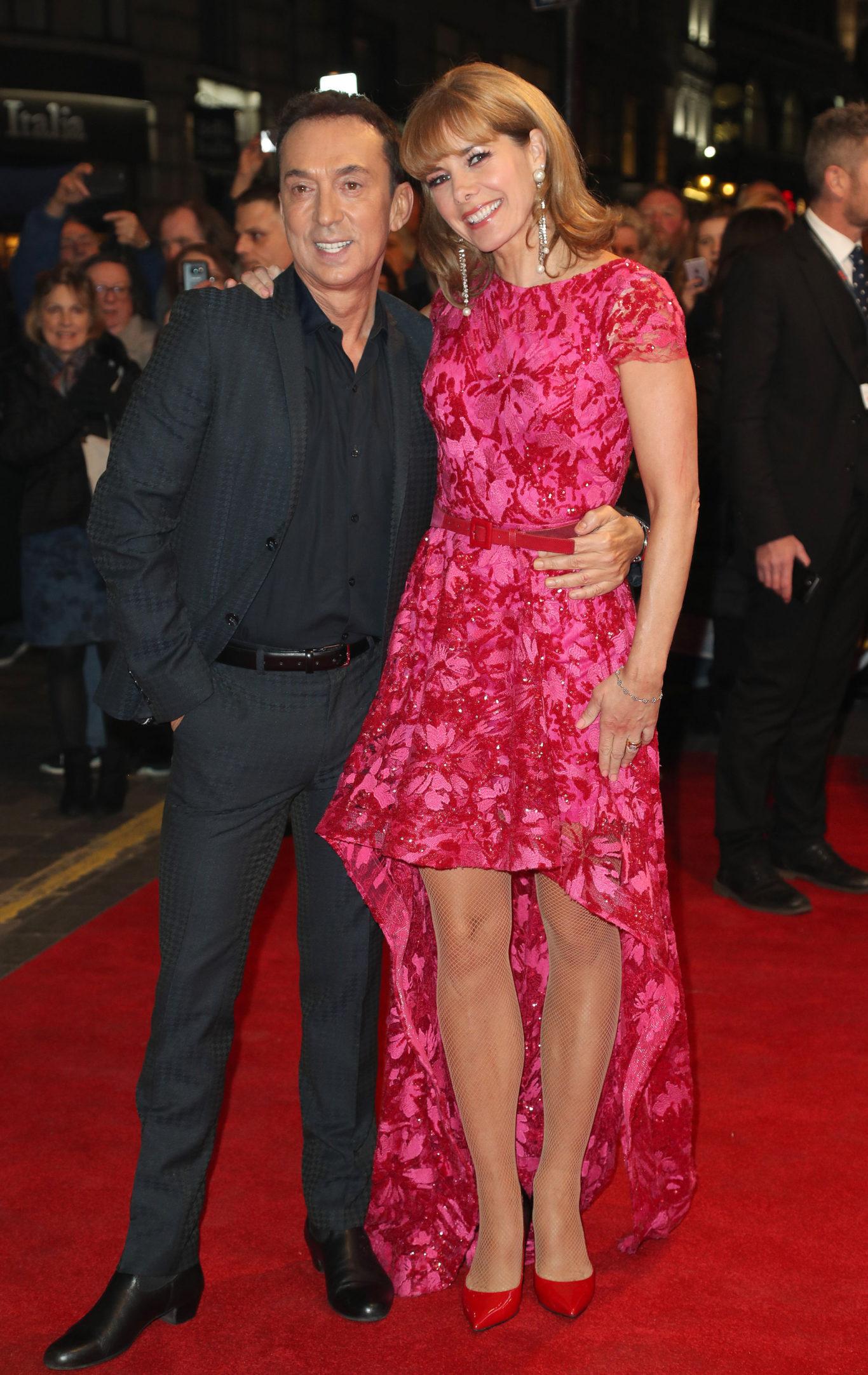 Bruno Tonioli and Darcey Bussell (Jonathan Brady/PA)