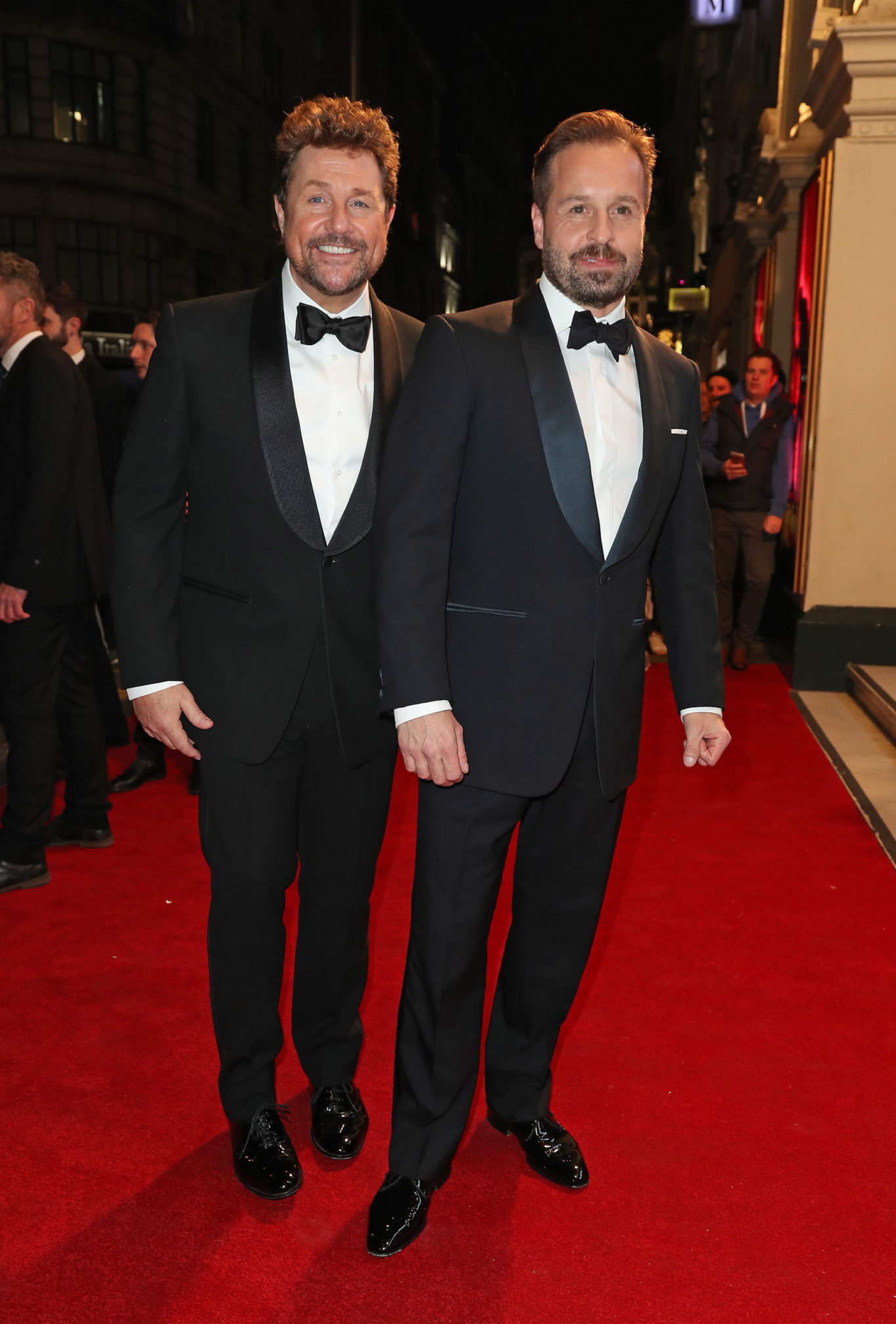 Michael Ball (left) and Alfie Boe (Jonathan Brady/PA)