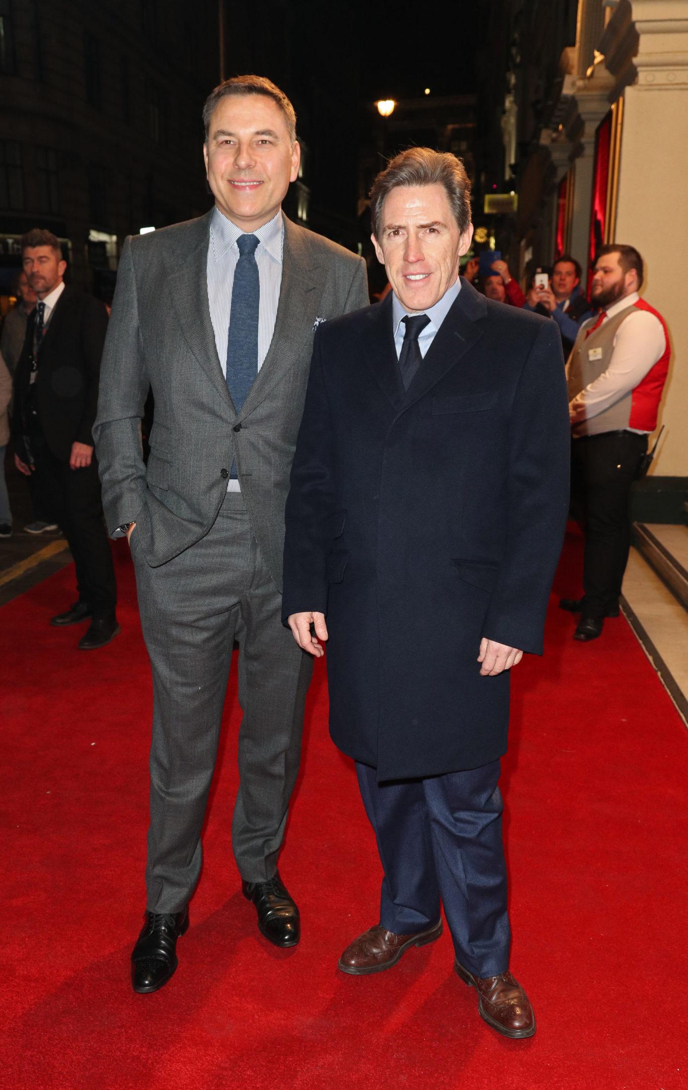 David Walliams (left) and Rob Brydon (Jonathan Brady/PA)