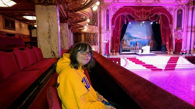 Sam at Blackpool Palladium (Collect/PA Real Life)