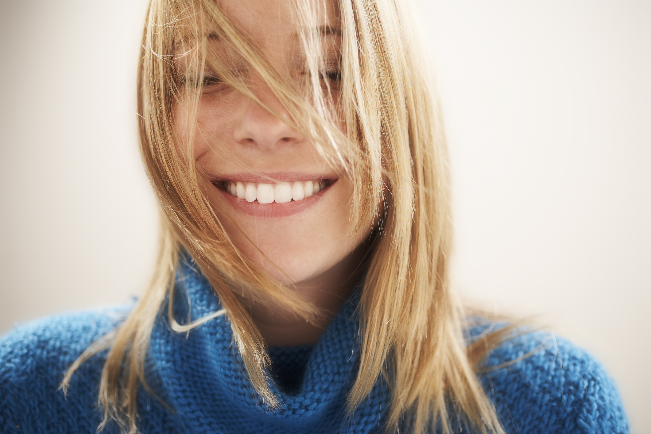 Generic photo of young woman smiling