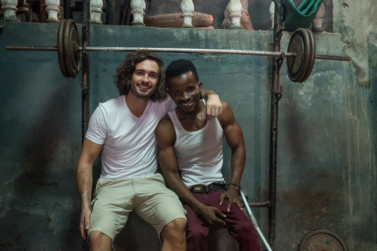 Joe Wicks and Mohamad (Sport Relief)