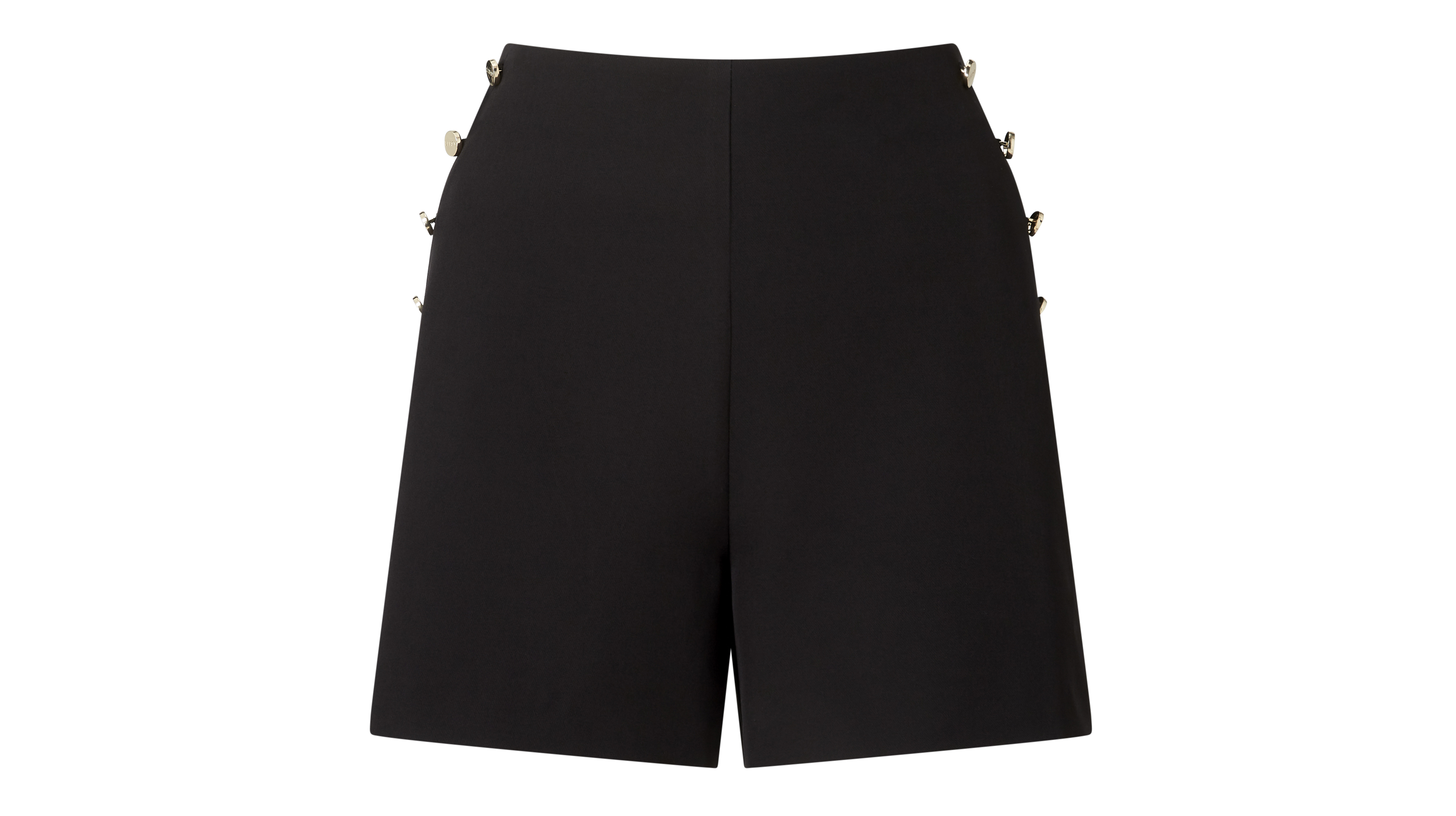 Lipsy Tailored Button High Waisted Shorts