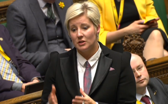 SNP MP Hannah Bardell addresses an adjournment debate in the House of Commons