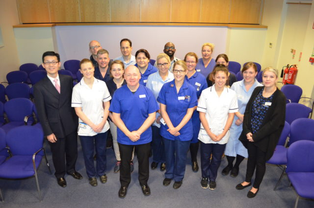 Some of the members of Royal Papworth Hospital's transplant team (Royal Papworth Hospital)
