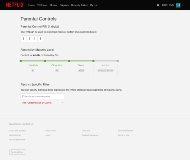 Netflix just made nice improvements to its parental controls