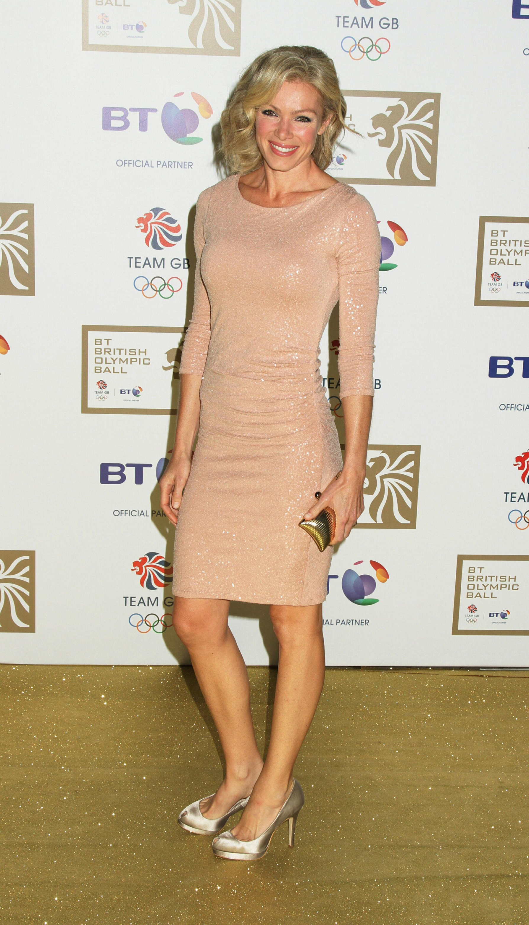 Nell McAndrew arriving for the BT Olympic Ball at Olympia Grand Hall, London in 2011. (Yui Mok/PA)