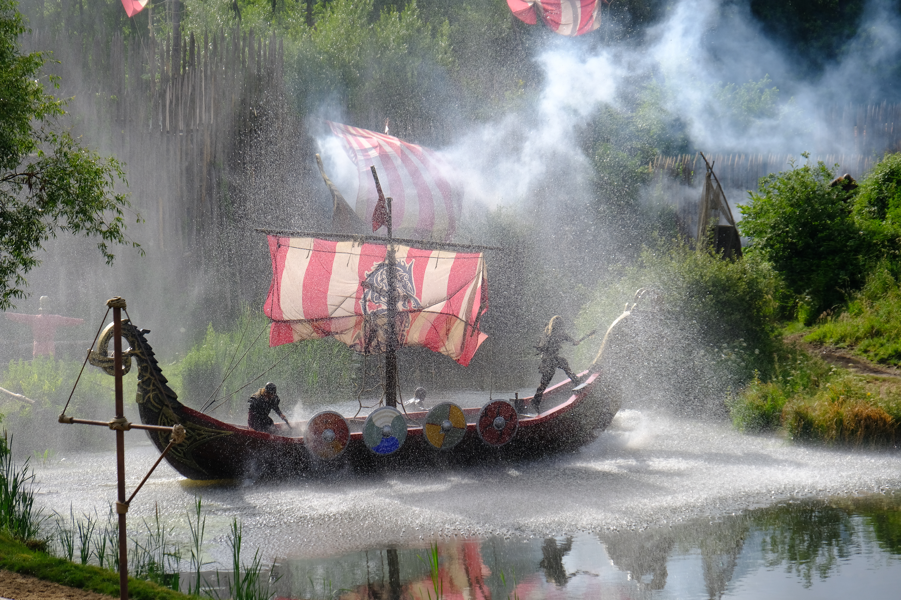 Puy Du Fou's dramatic lakeside Vikings show is a feast for the eyes (Warren Chrismas/PA)