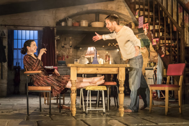 Laura Donnelly and Paddy Considine in The Ferryman (Johan Persson)