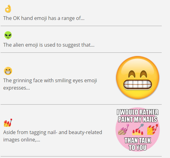 Emojis dictionary tells you what they all mean - Ebuyer Blog