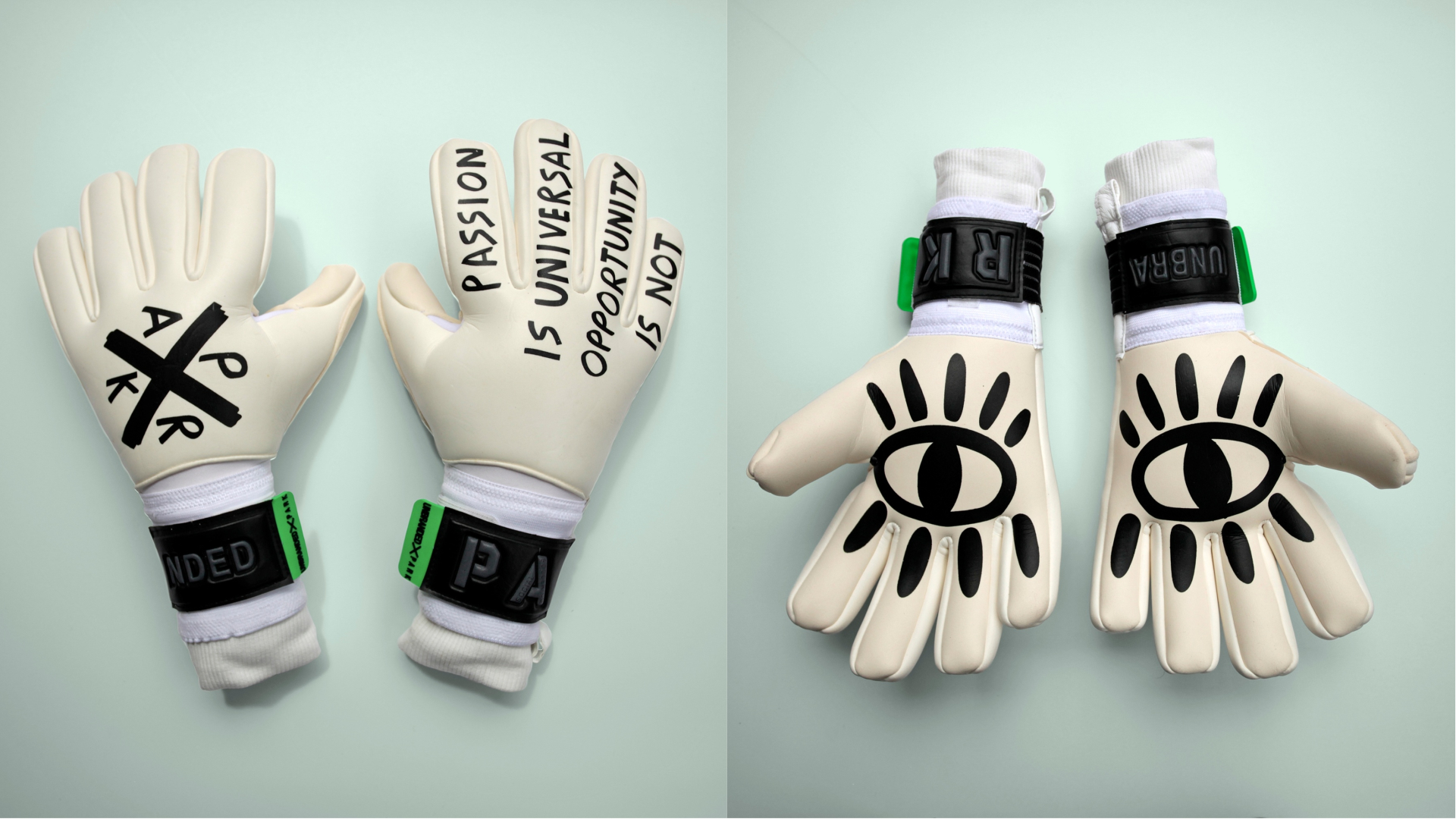 Goalkeeper gloves from Park Social Soccer Co