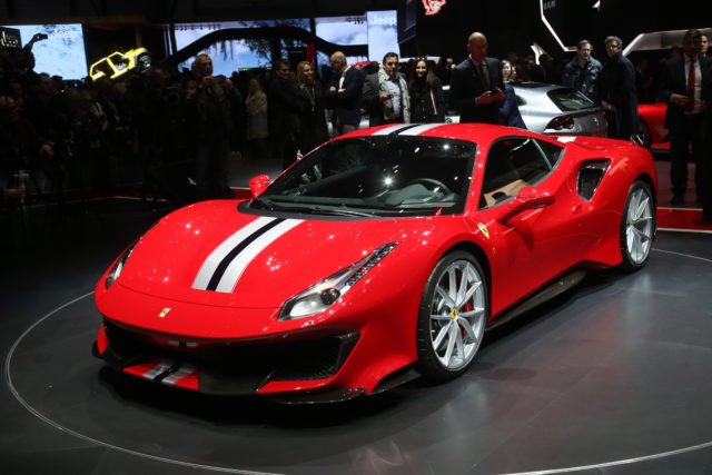 The 488 Pista is a lightweight version of the regular 488