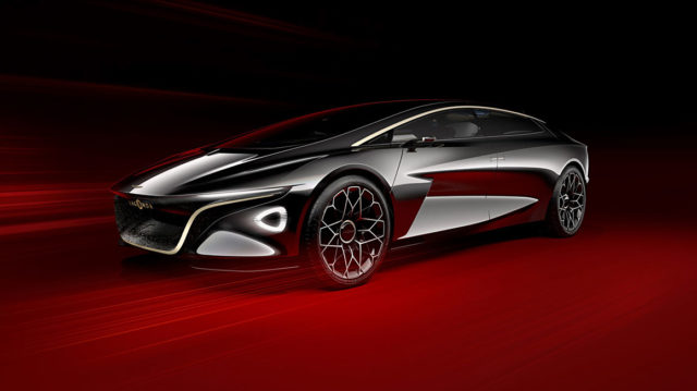 The Lagonda Vision Concept is an ultra-luxurious all-electric saloon