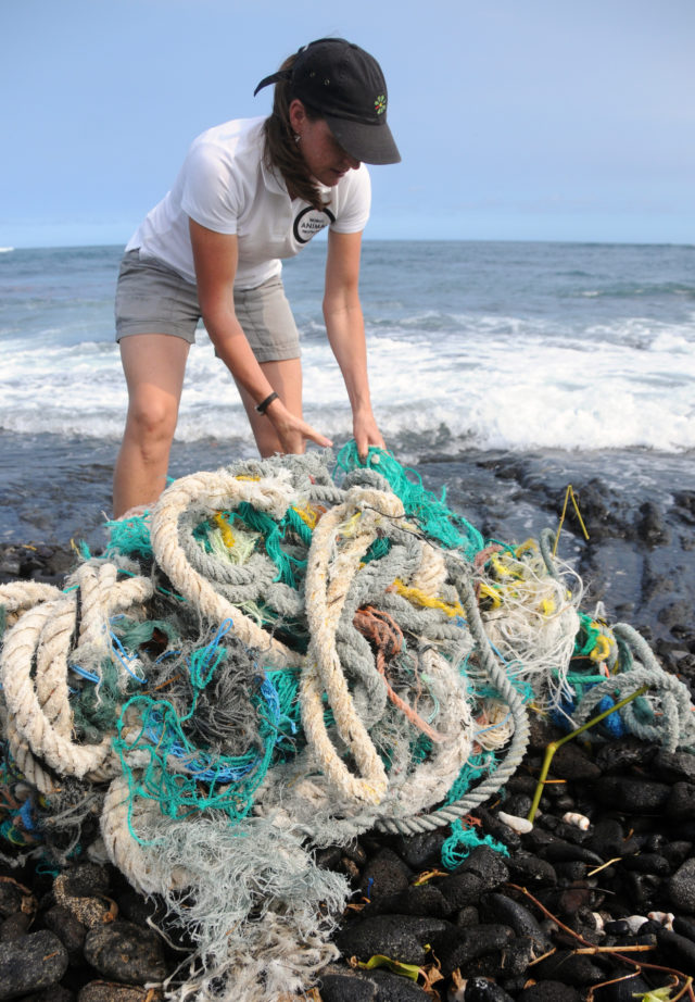 shing-related debris makes up 70% of the larger plastic waste in the oceans (World Animal Protection/Rachel Ceretto/PA)