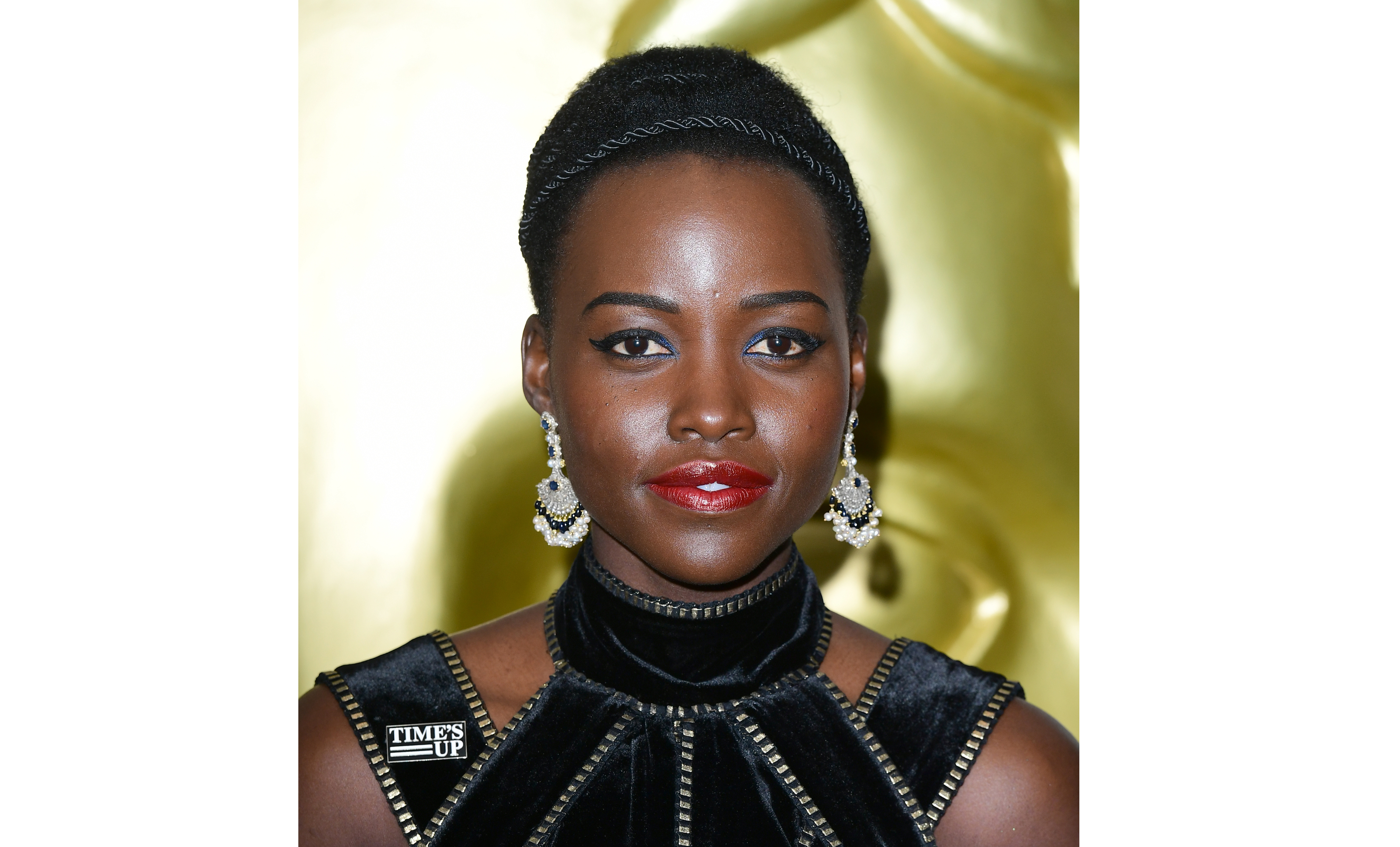 Lupita Nyong'o attending the after show party for the EE British Academy Film Awards