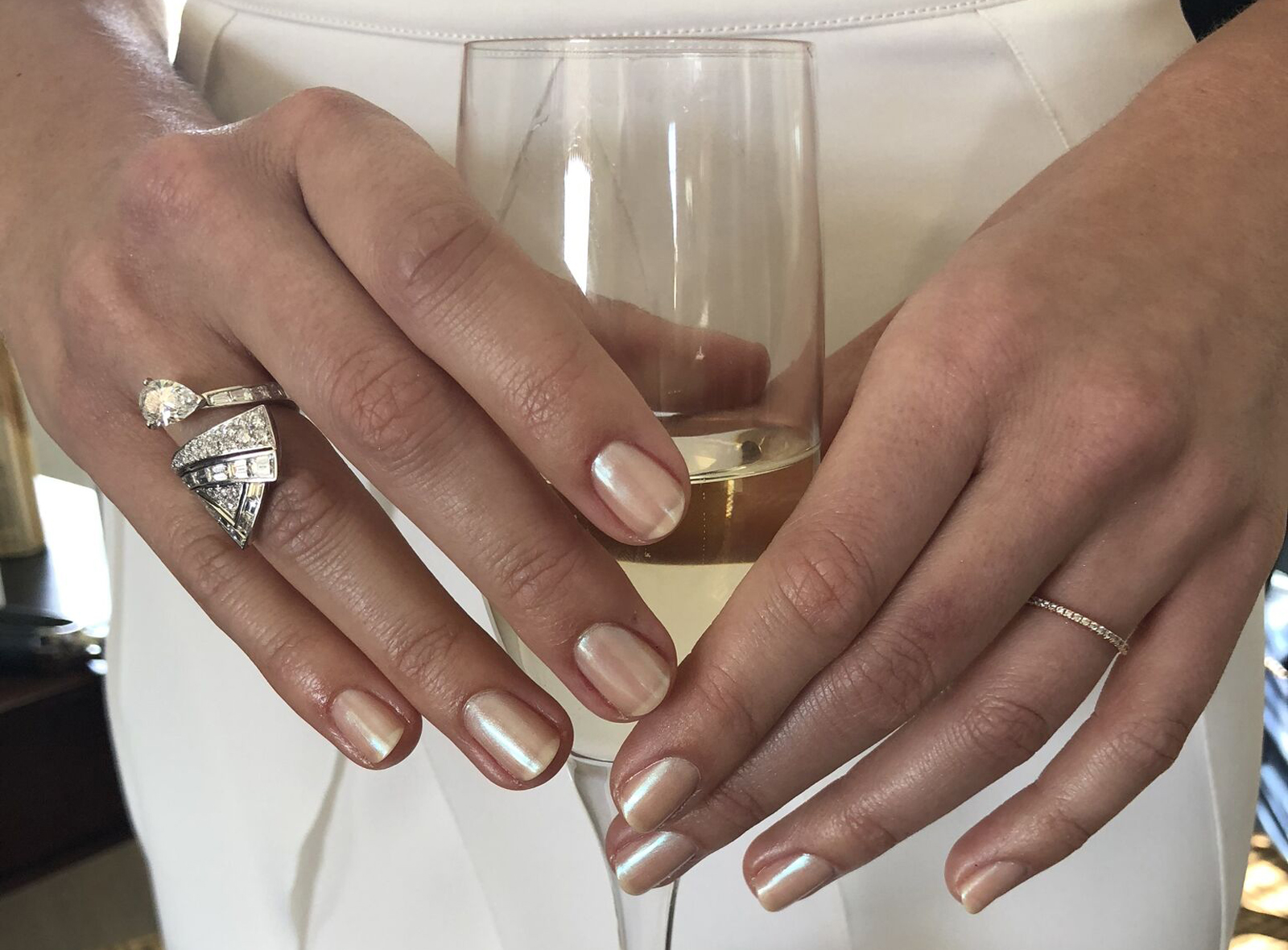 Margot Robbie's manicure at the Oscars 2018