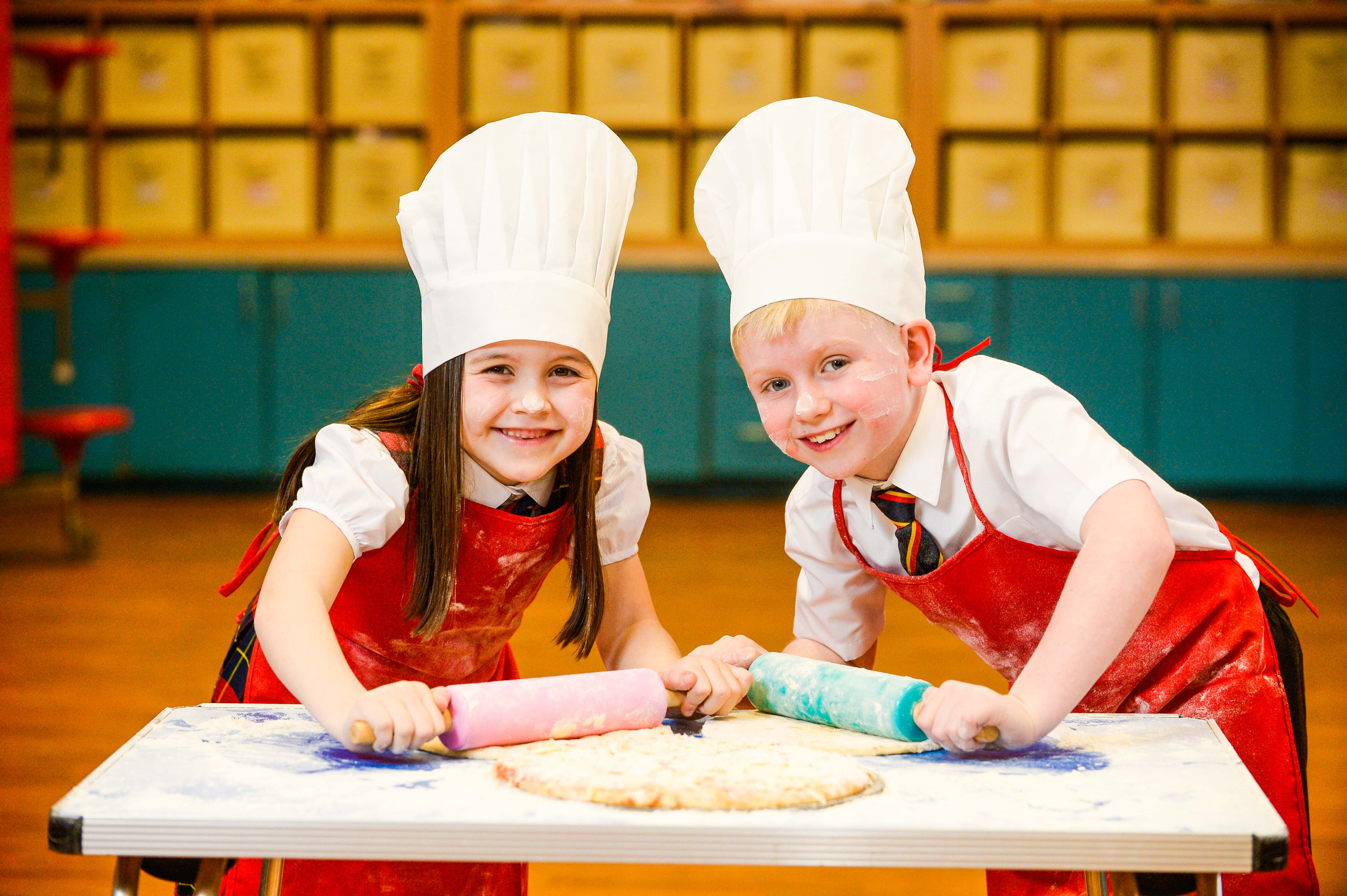 Children from Paisley are looking forward to the Paisley Food and Drink Festival (Nick Ponty/Paisley Food and Drink Festival/PA)