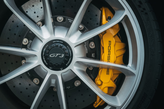 Ceramic brakes provide a huge amount of stopping power