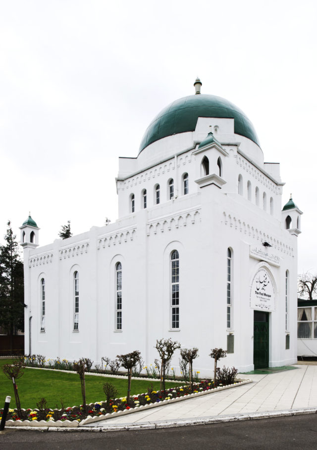 The Fazl Mosque, Southfields, has been listed at Grade II (Historic England/PA)