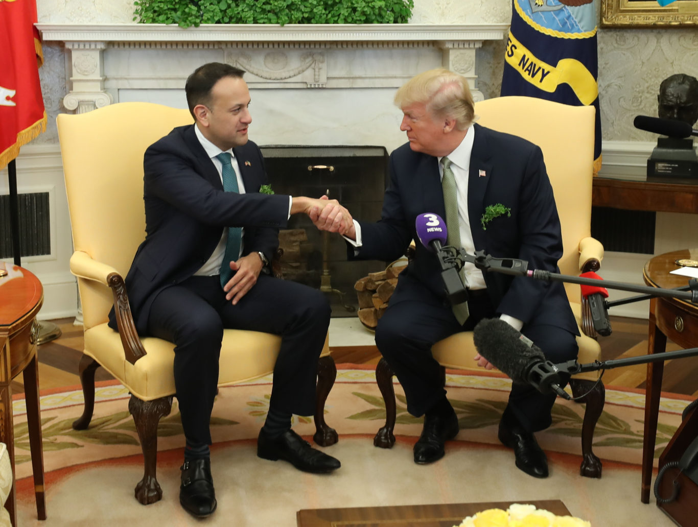 Taoiseach criticised over phone call to council on behalf of Trump