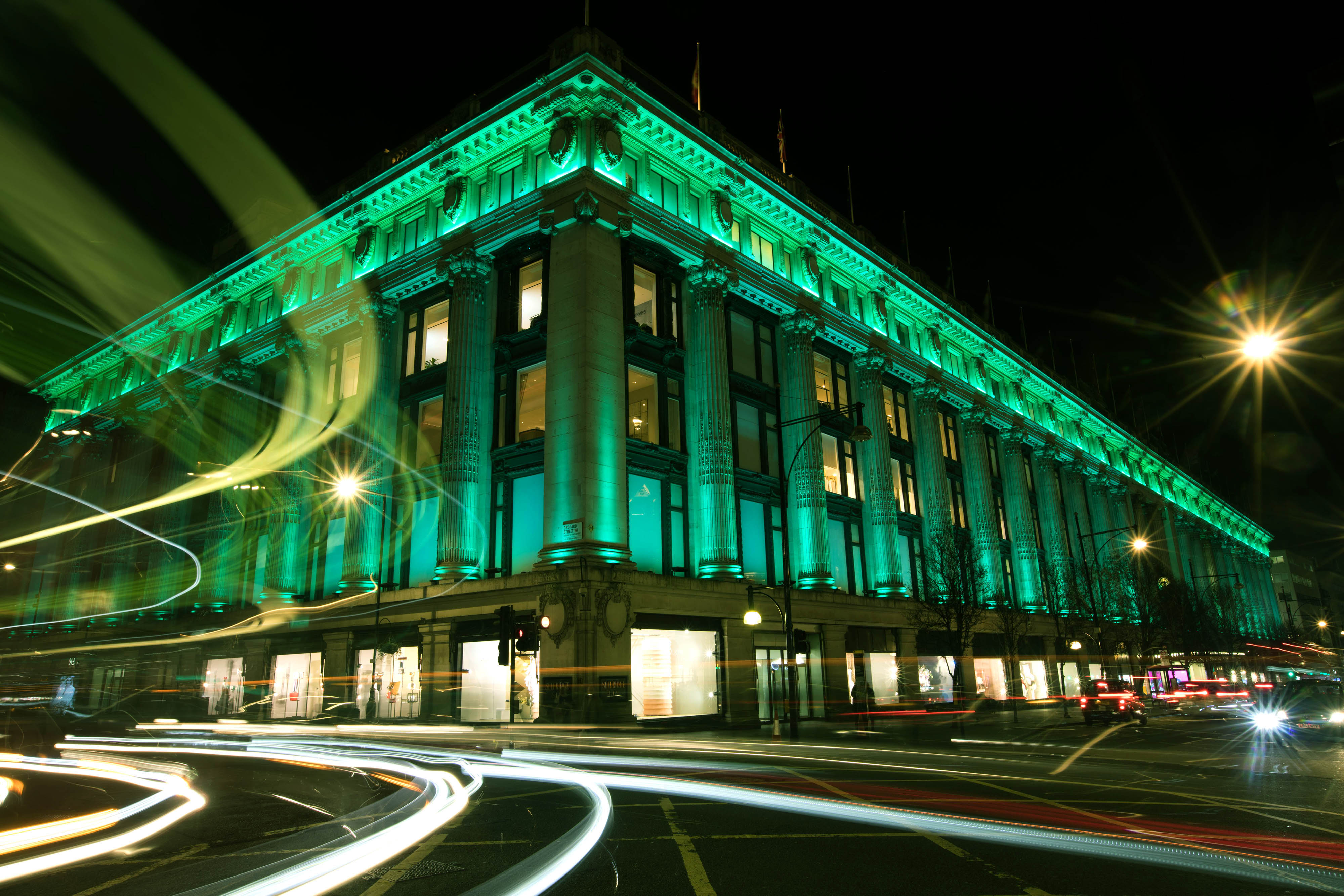 Selfridges in London joined Tourism Ireland's Global Greening initiative