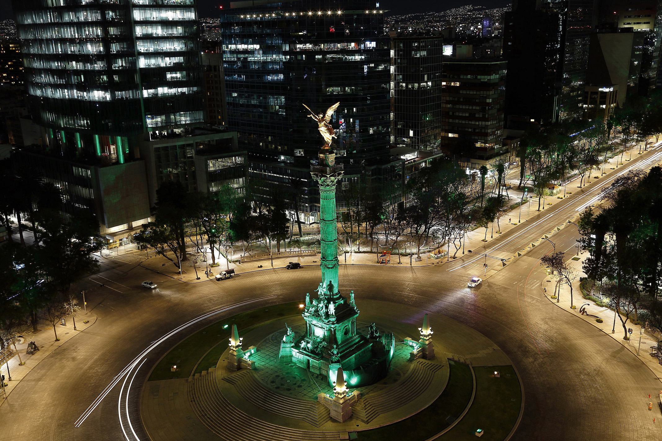 El Angel de la Independencia in Mexico City (Tourism Ireland/PA)