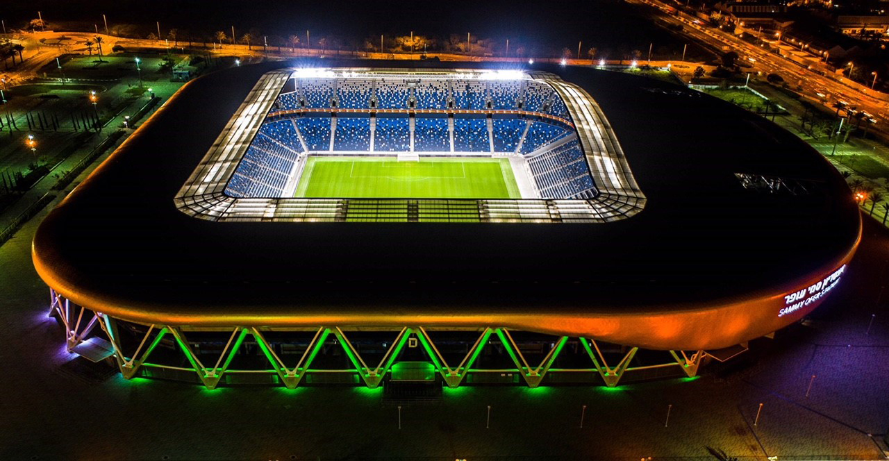 The Sammy Ofer Stadium in Haifa, Israel (Tourism Ireland/PA)