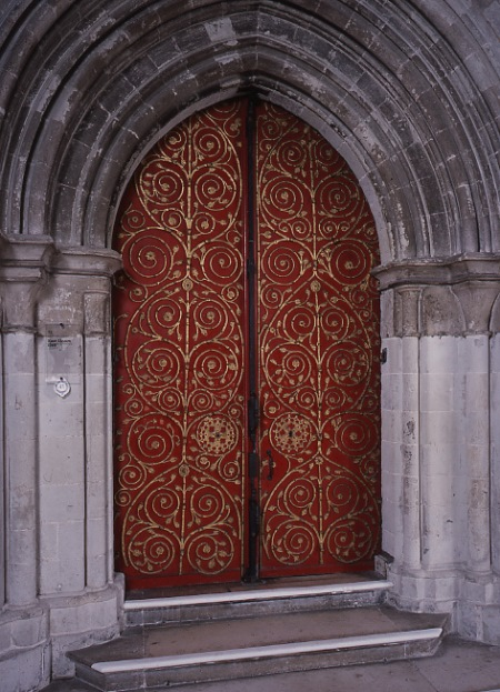 The Gilebertus door at St George's Chapel, Windsor, which inspired the china (St George's Chapel/PA)