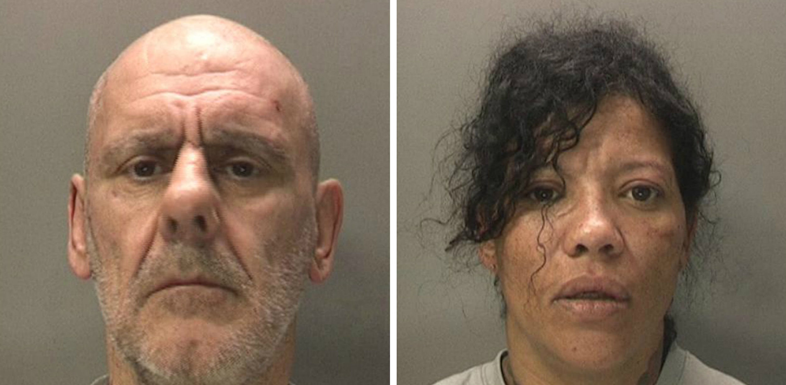 Robert Brown and Gwendoline Harrison (West Midlands Police/PA)