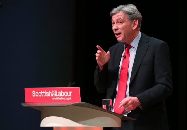 Scottish Labour leader Richard Leonard (Jane Barlow/PA)