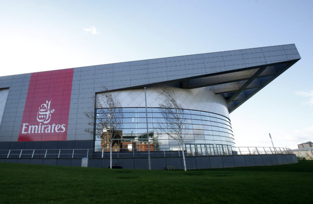 The Emirates Arena, one of the venues for the Glasgow 2014 Commonwealth Games. (Danny Lawson/PA)