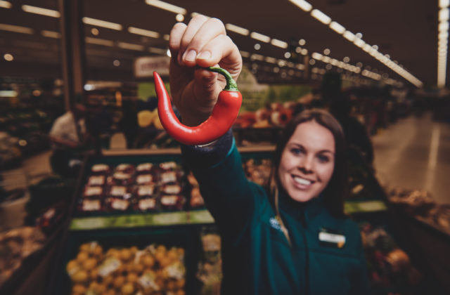 Morrisons is selling wonky chillies to cut food waste.