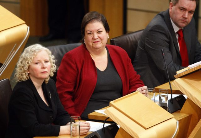 Labour economy spokeswoman Jackie Baillie (Scottish Parliament/PA)