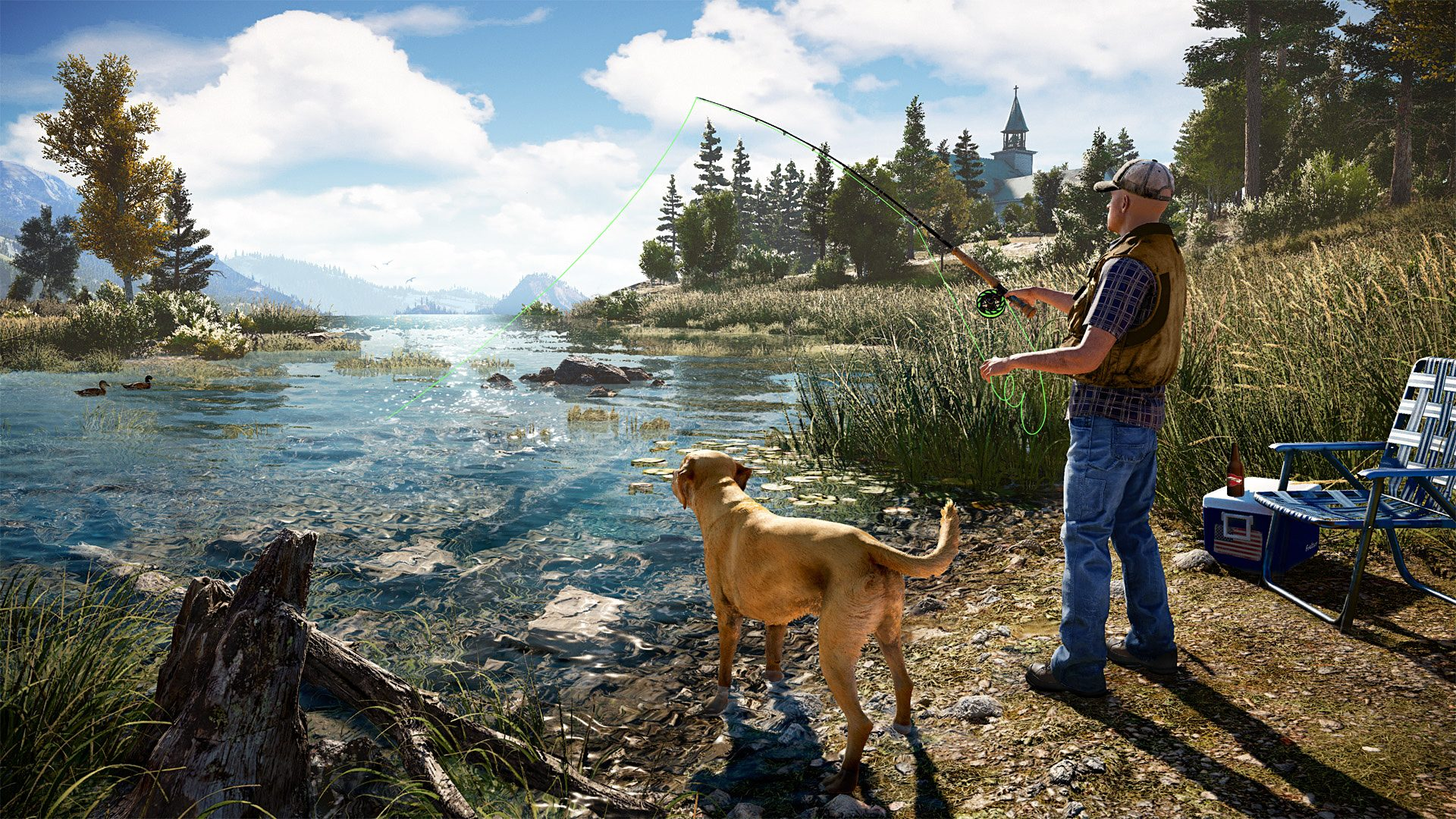 Fishing in Far Cry 5 review