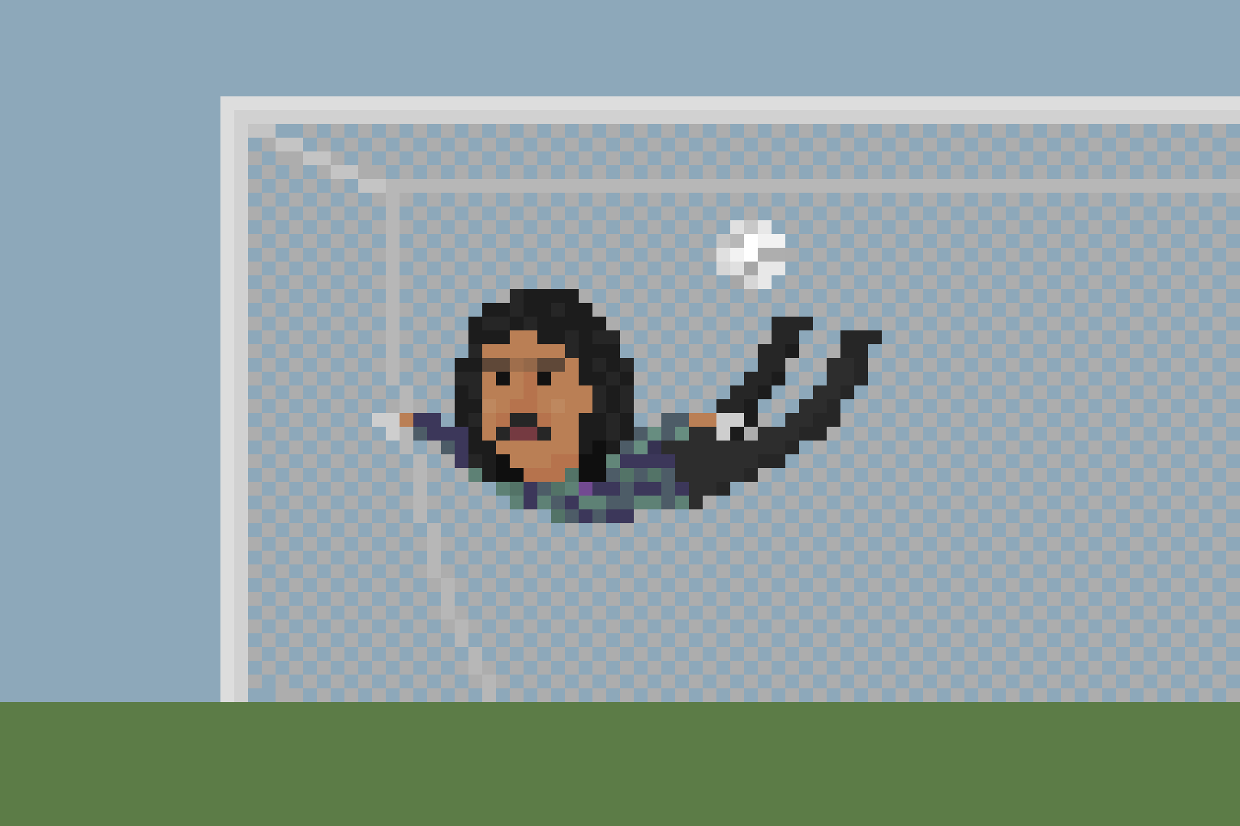 Higuita's scorpion kick save