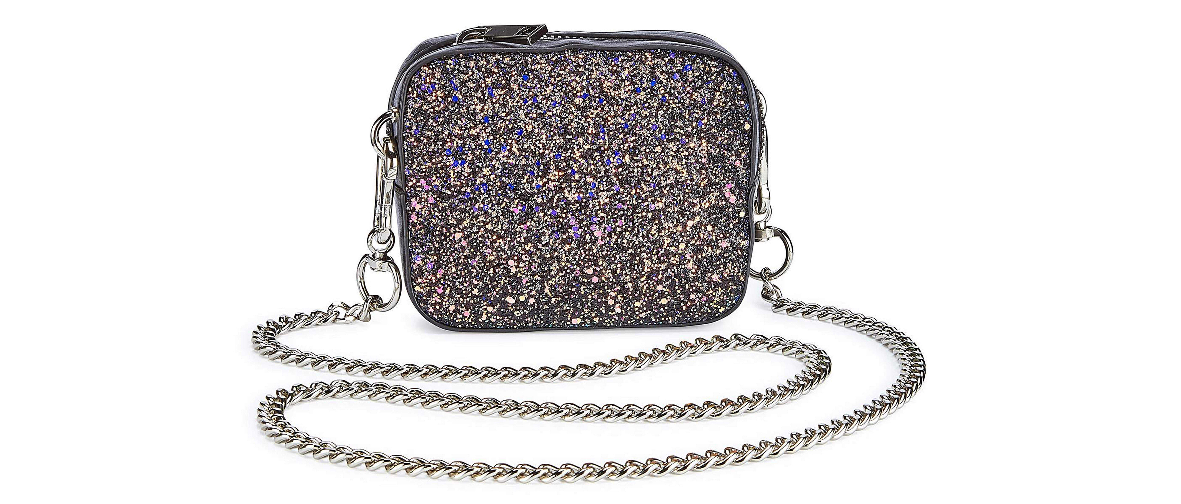 Simply Be Trixie Mini Glitter Shoulder Bag