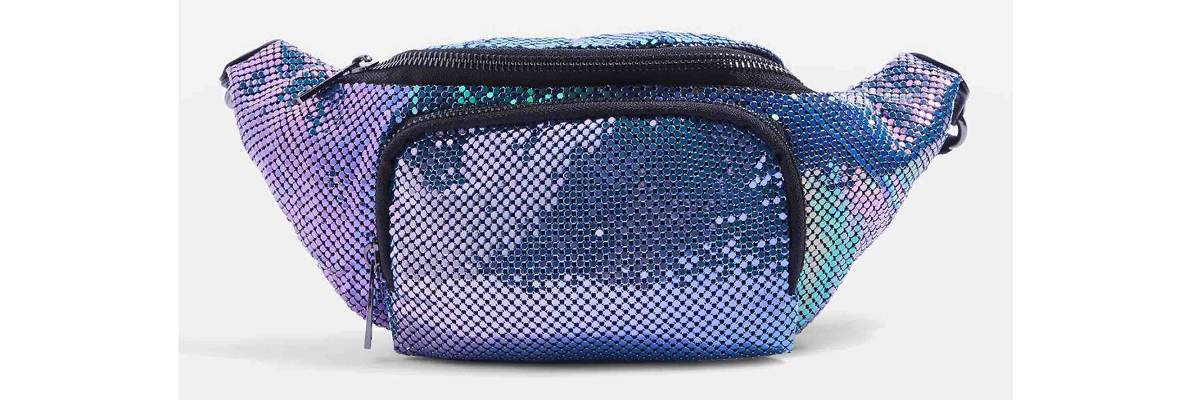 Topshop Flava Chainmail Bum Bag
