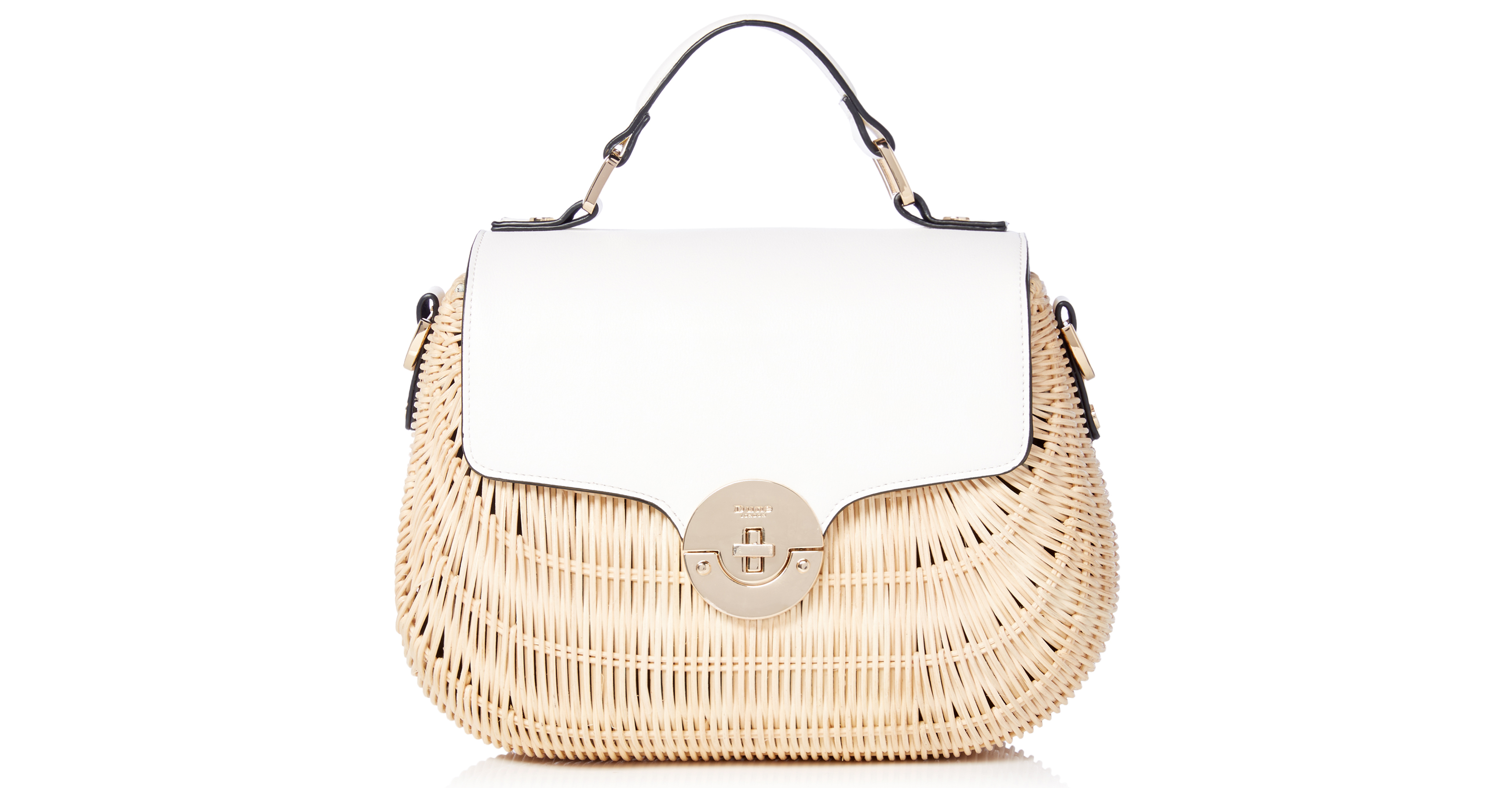 Dune Doannee White Bag