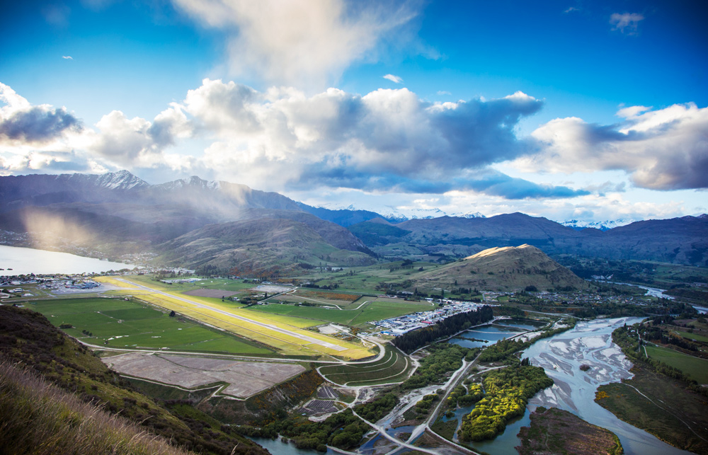 Landing at Queenstown