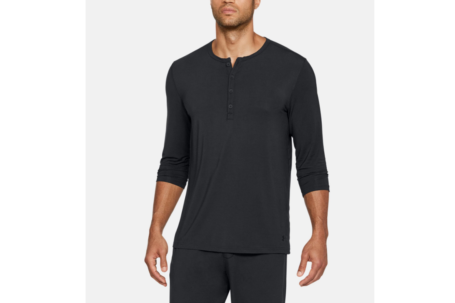 Under Armour Athlete Recovery Ultra Comfort Sleepwear Henley, £60