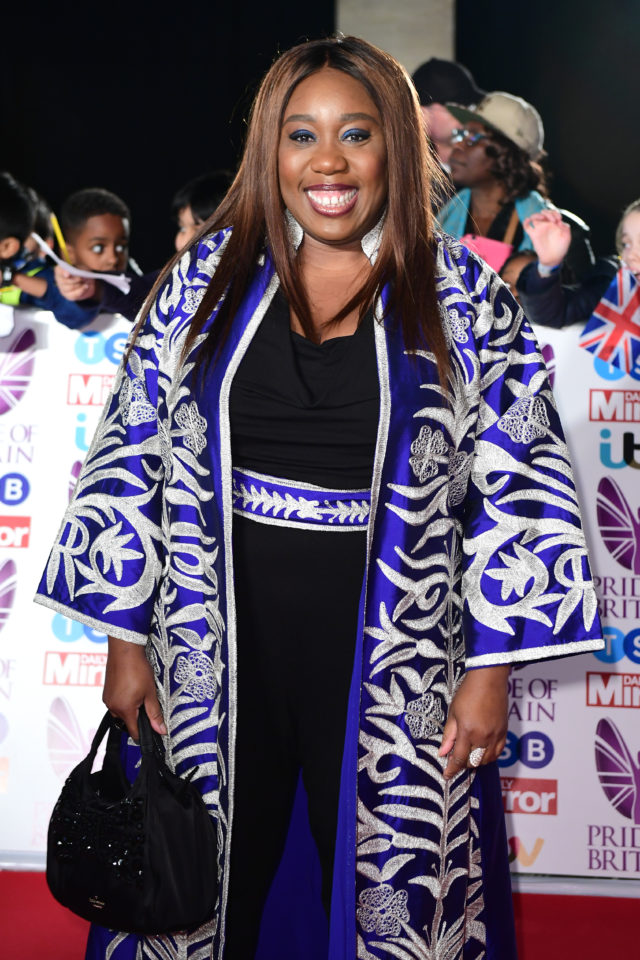 Chizzy Akudolu attending The Pride of Britain Awards 2017 (credit: Ian West/PA Wire)