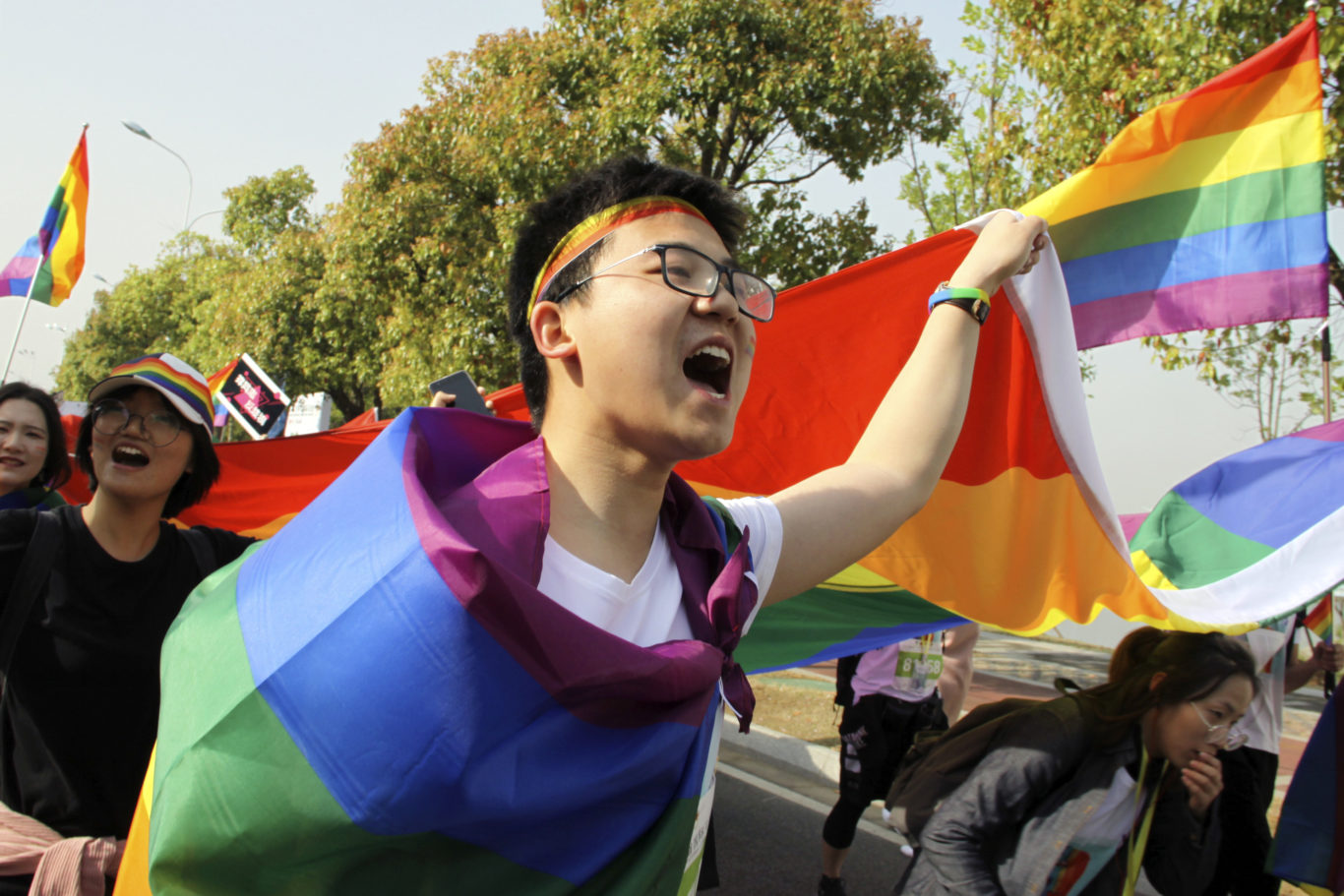 China remains a deeply socially conservative country (AP)