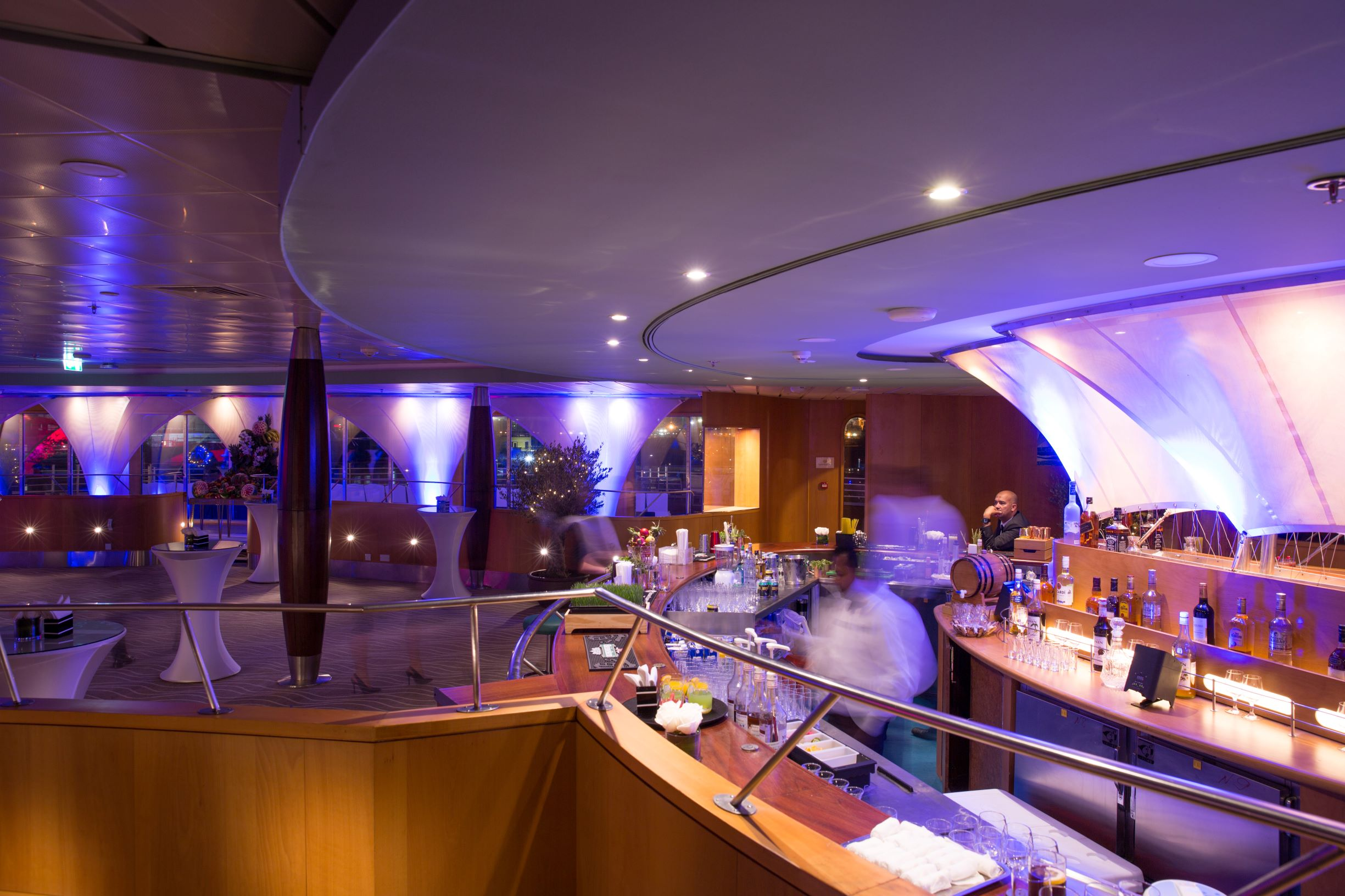 The Yacht Club on board QE2 (PCFC Hotels/PA)