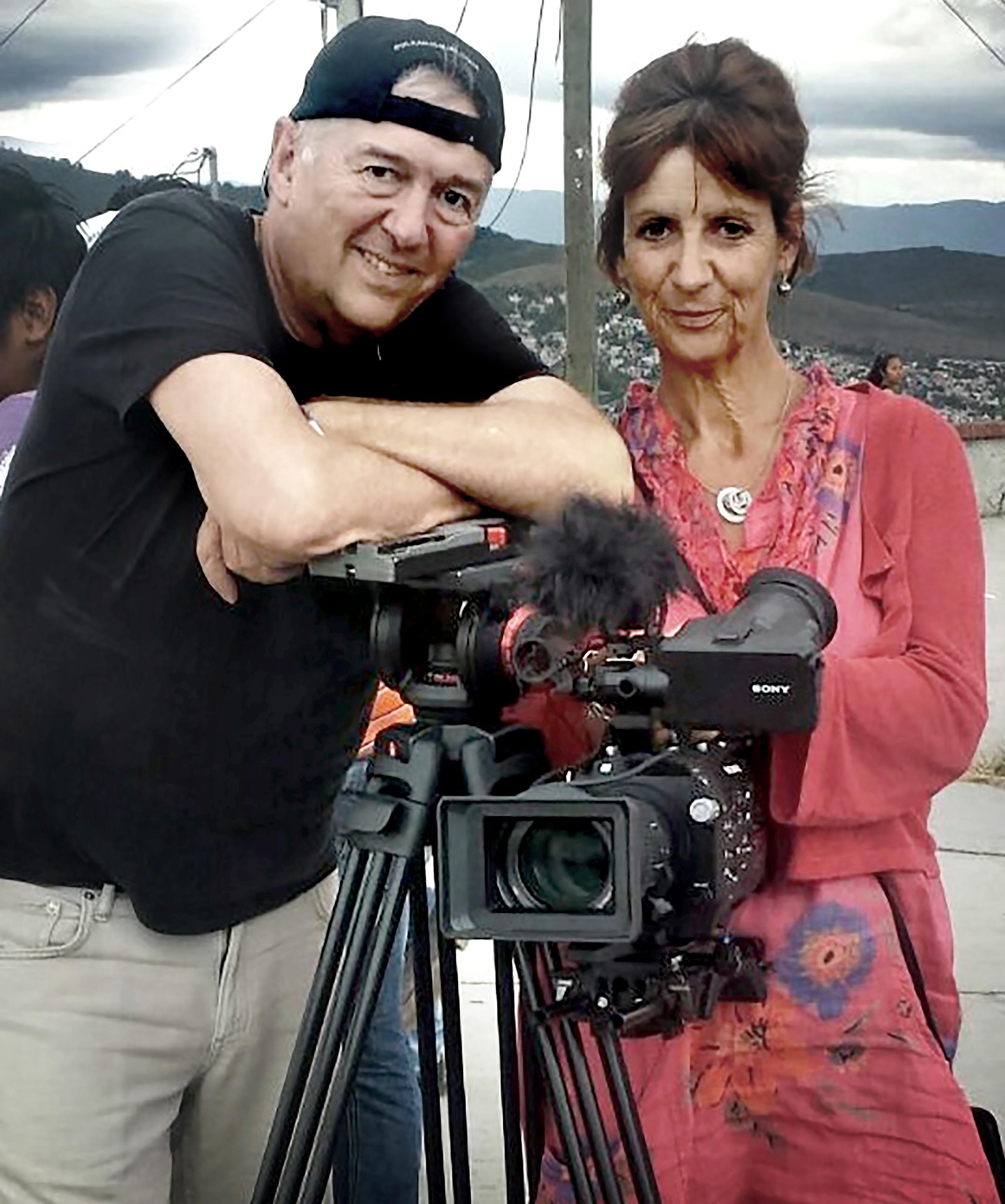 Jane Harris and Jimmy Edmonds