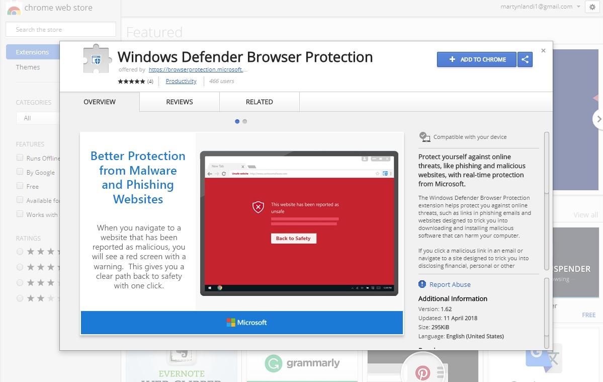 antivirus for google chrome