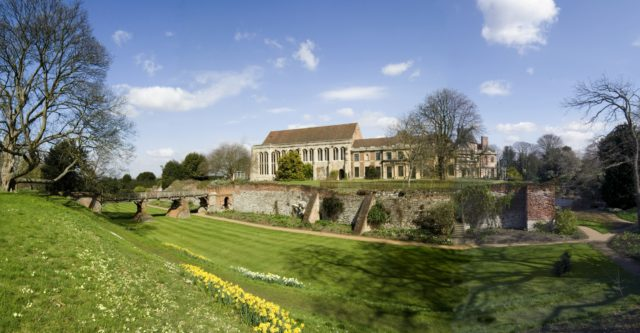 Eltham Palace, south London, is one of English Heritage's sites most at risk from clothes moths (English Heritage/PA)