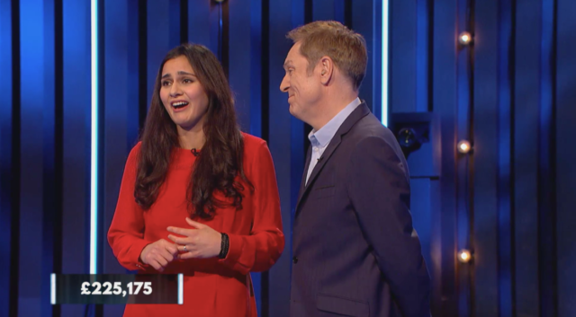 Host Brian Conley was reduced to tears when Sylvia scooped a massive order (Channel 4/PA)