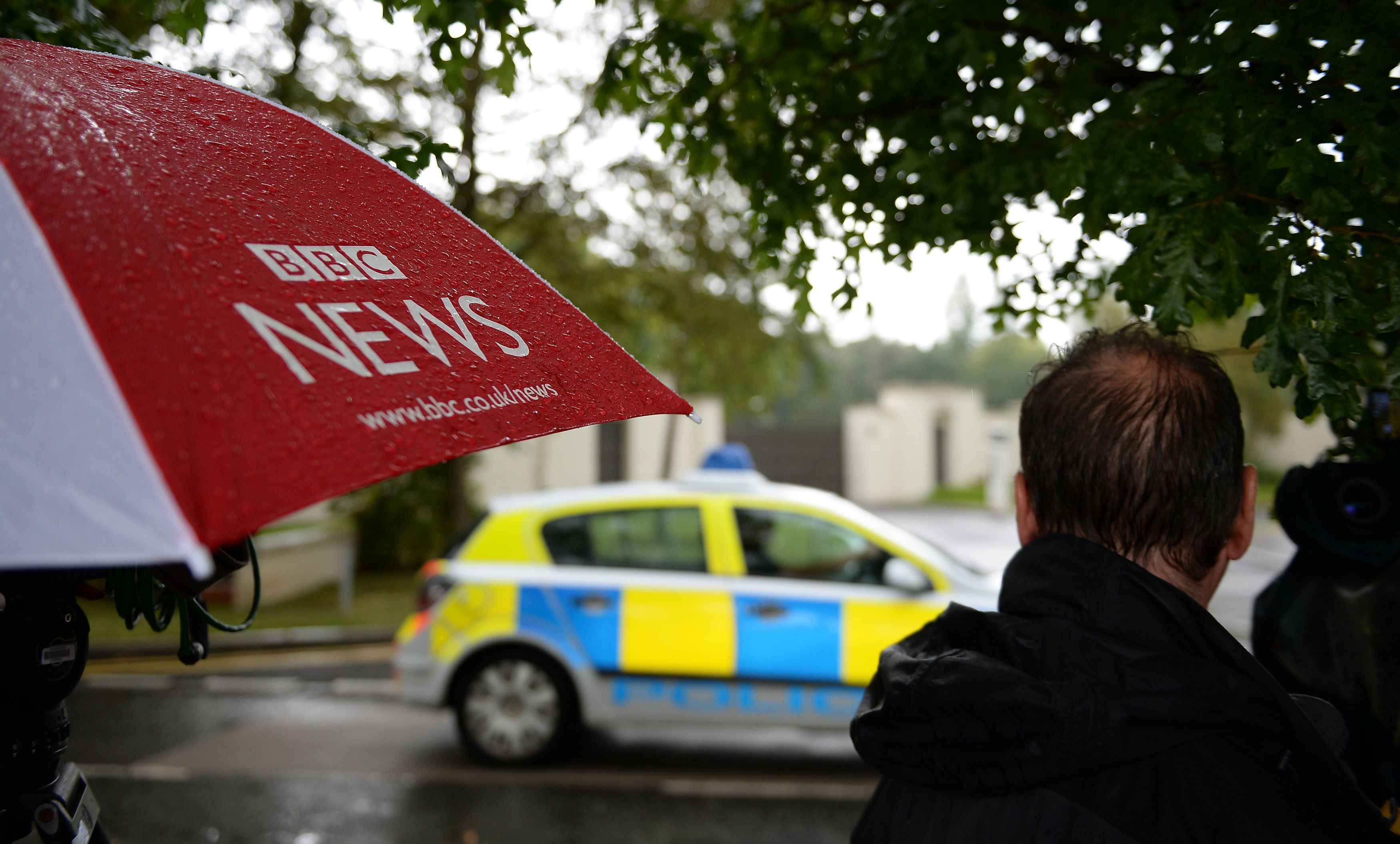 South Yorkshire Police searched the apartment in Sunningdale, Berkshire (Andrew Matthews/PA)
