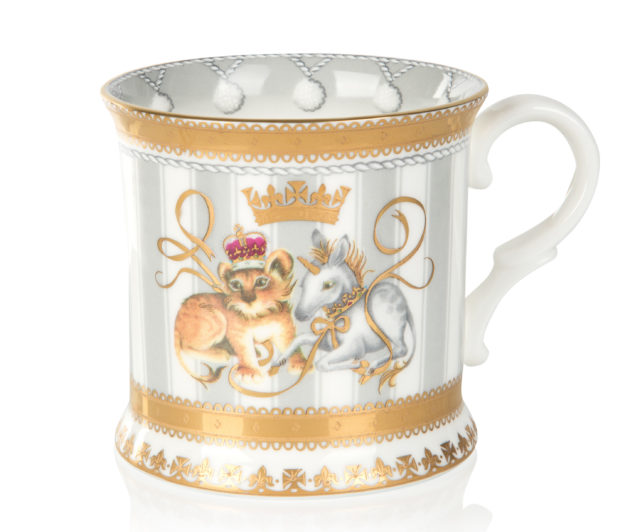 The Royal Collection tankard, priced at £39 (Royal Collection Trust/Her Majesty Queen Elizabeth II 2018/PA)